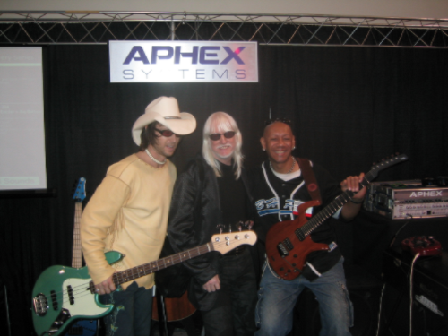Mark Meadows, Edgar Winter and myself