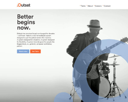Outset Medical website