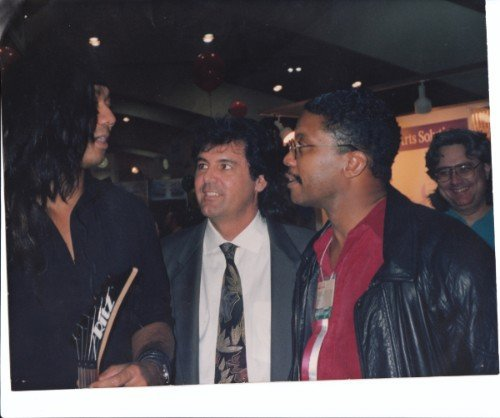 with Cliff Wildes and Herbie Hancock